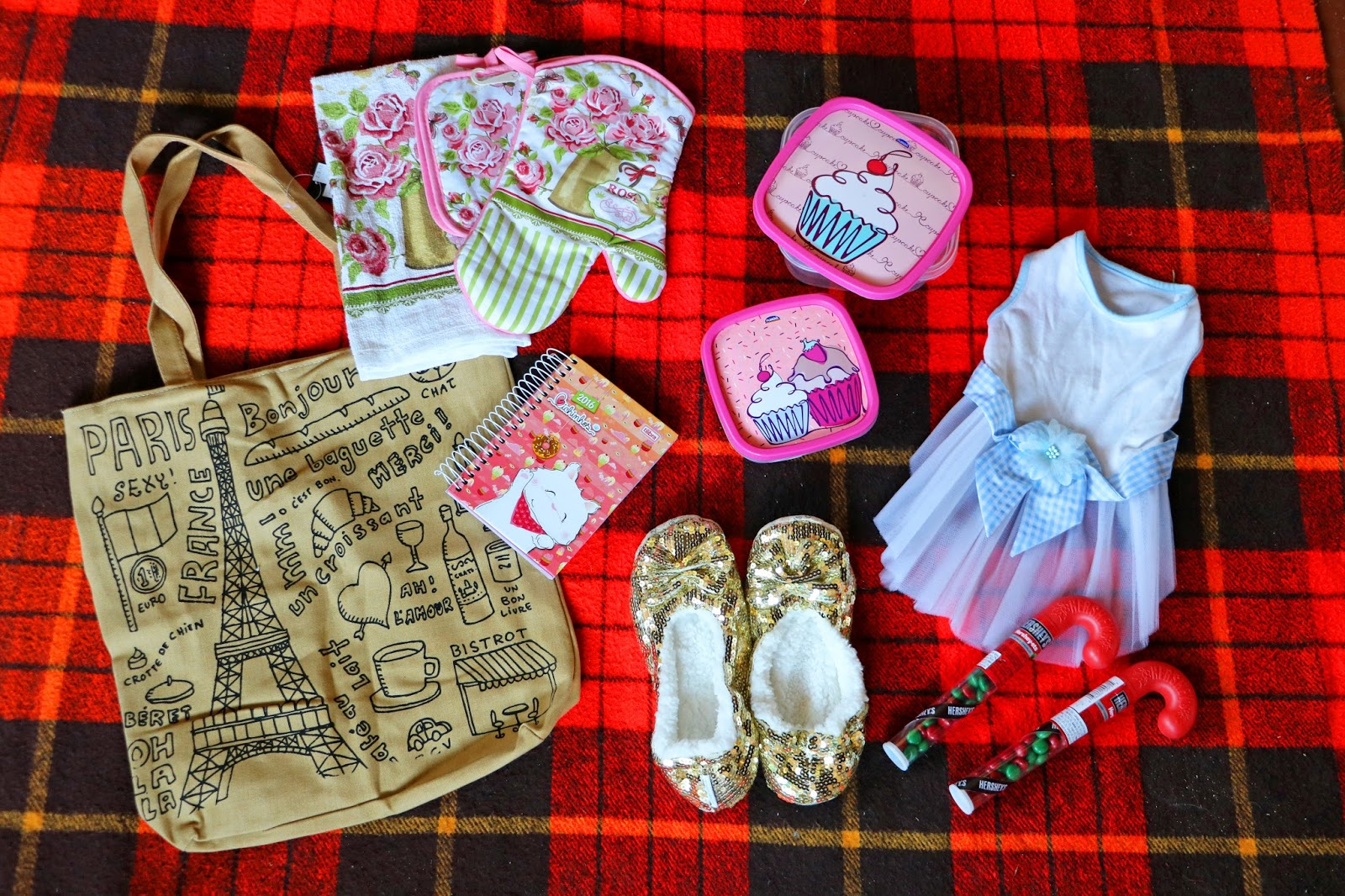 Really cute Christmas presents for a girly girl!