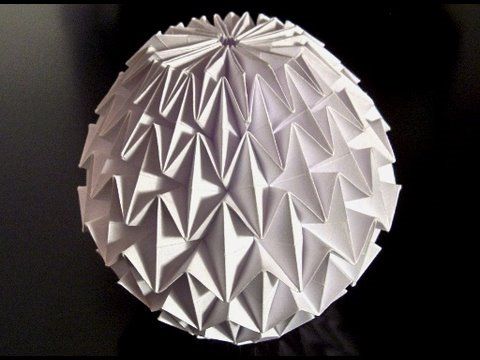 make an origami magic ball danzy world