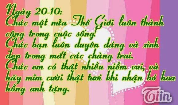 thiep 20 10 dep nhat 30 Ảnh 20/10 đẹp nhất Thiệp ngày 20/10 dành tặng chị em phụ nữ
