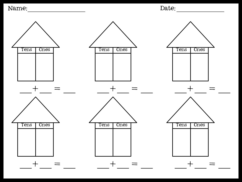 1st Grade Place Value The Brown Bag Teacher – 1st Grade Place Value Worksheets