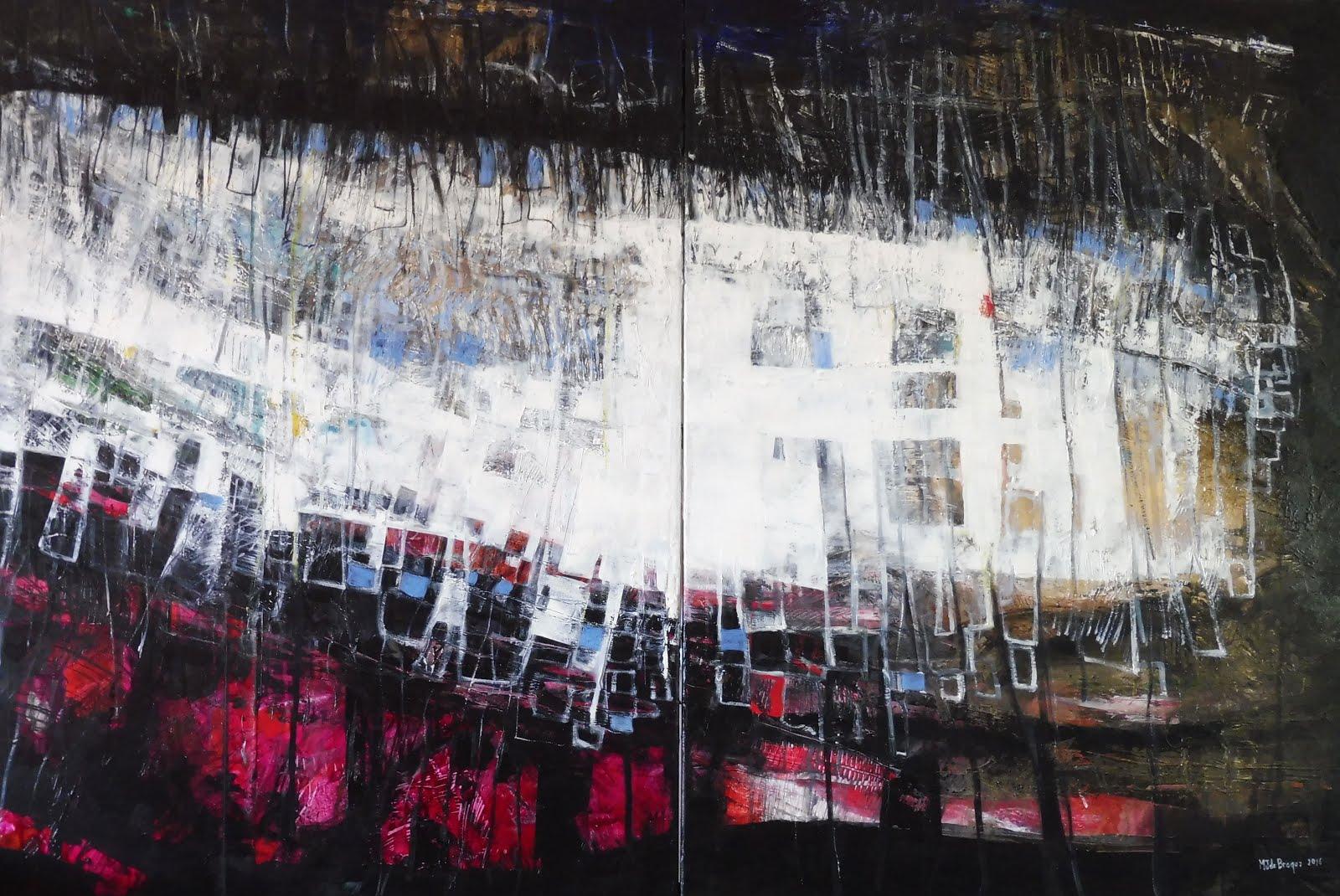 Ressac -  178 x 116 cm - 2016