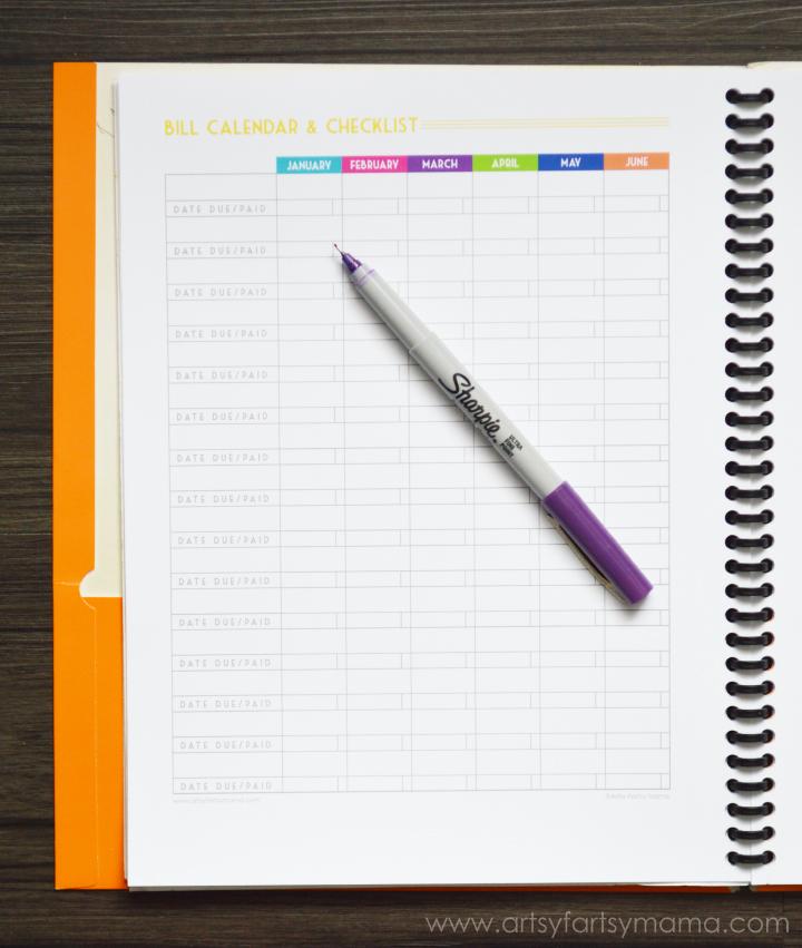 Free Printable Budget Planner  ArtsyFartsy Mama