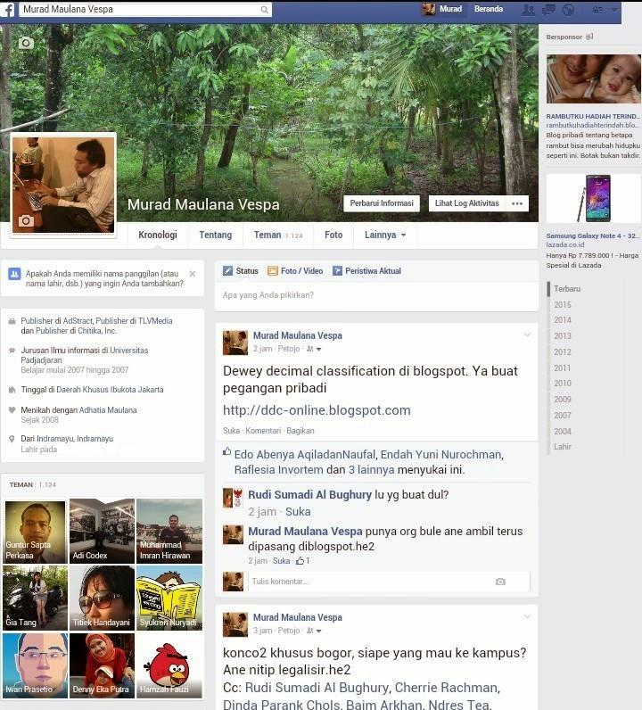 Ide Menulis di Blog Melalui Update Status Facebook Teman