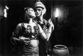 Imagen del rodaje de Salomé en La verdadera historia del cine
