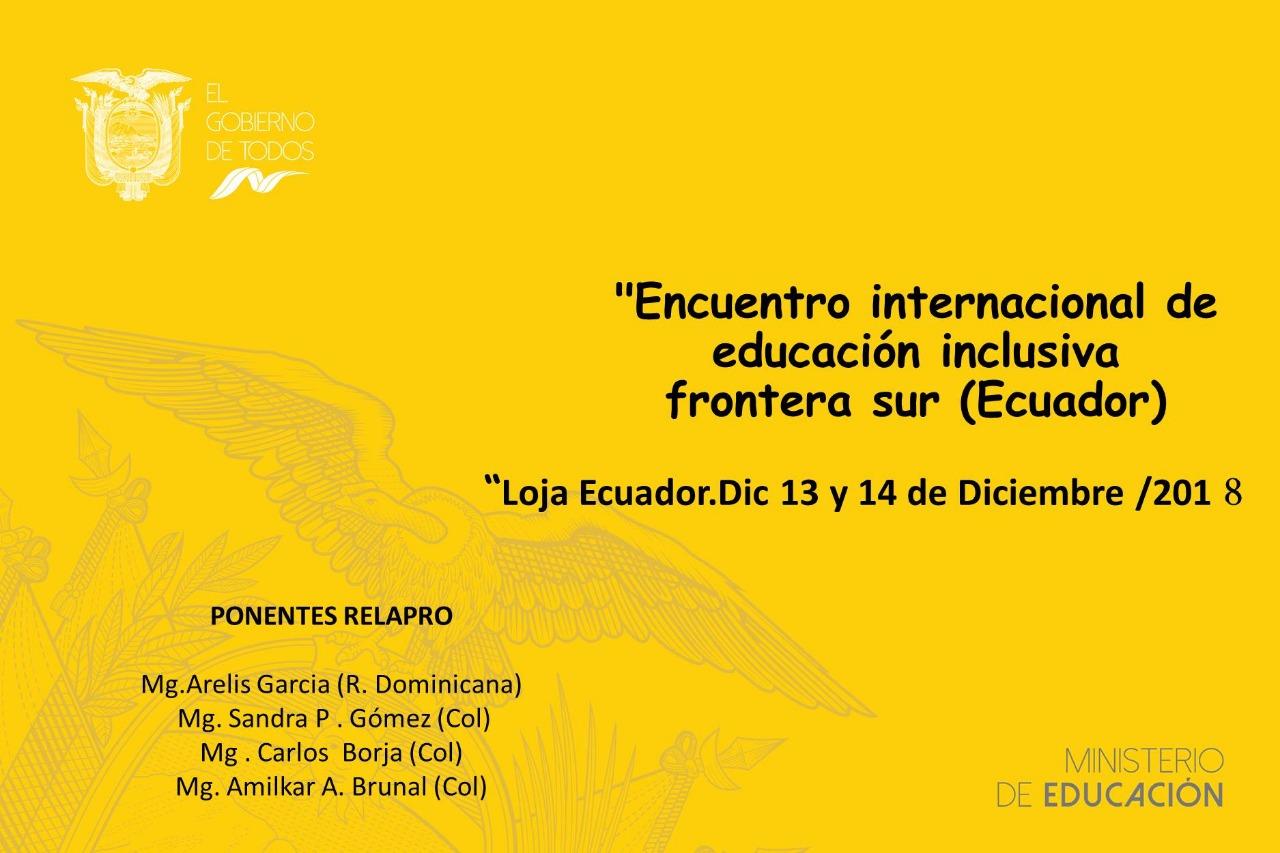 Encuentro Internacional de Educación Inclusiva