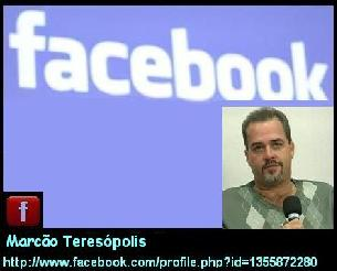 Adicione - me no Facebook