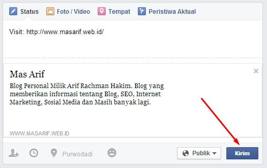 Cara Agar Status Facebook di Like Banyak Orang (Auto Like)