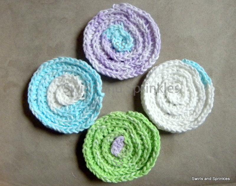 Swirls and Sprinkles: Free Patterns