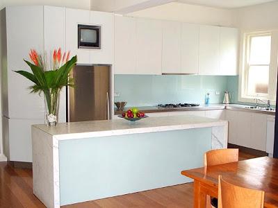 I d e a qu poner en el frente de una cocina - Azulejos antisalpicaduras ...