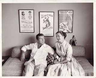 Robert Preston and Catherine Craig