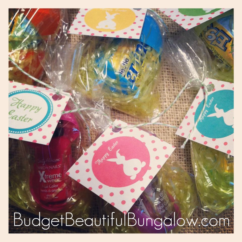 Budget Beautiful Bungalow A Quick And Inexpensive Easter Gift