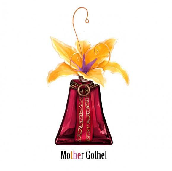 Frascos de perfumes inspirados em vilões da Disney
