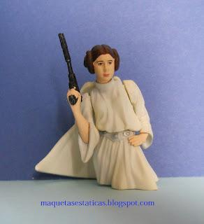 busto de la princesa Leia de Star Wars