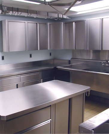 Cabinets for kitchen stainless steel kitchen cabinets for Steel kitchen cabinets