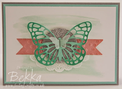 Beautiful Butterfly Card for any Occasion made with Stampin' Up! UK supplies - get them here