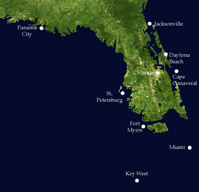 Florida Most At Risk From Sea Level Rise Phillips Natural World - Elevation above sea level by zip code