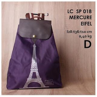 Jual online Tas Backpack Wanita Murah Unik - Mercure Eifel LC SP 018