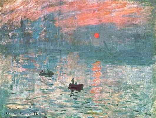 """""""Impresión"""" de Monet"""