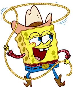 Bob esponja vaquero