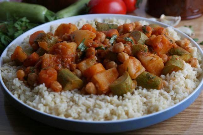 طريقة تحضير يخنة الخضروات على الطريقة المغربية, يخنة الخضروات, عمل يخنة الخضروات على الطريقة المغربية,
