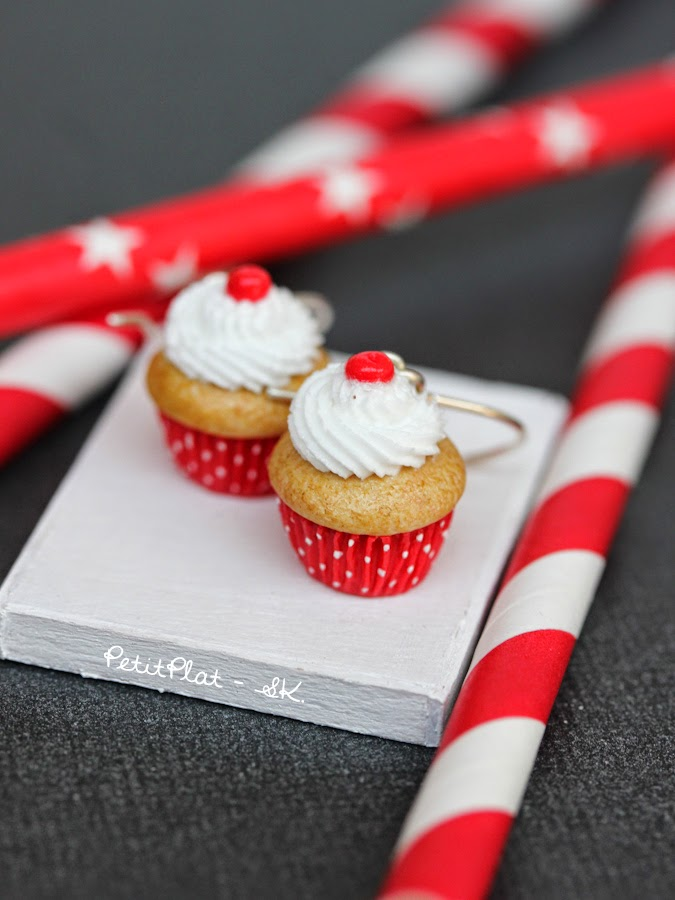 Miniature Cupcake Jewelry, Stephanie Kilgast, PetitPlat