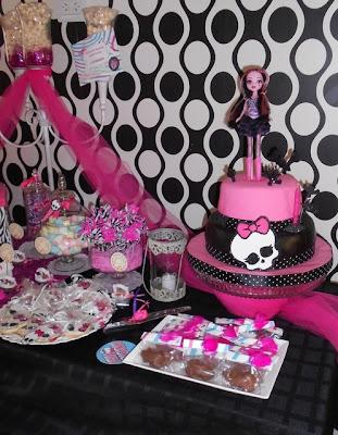about Monster High - Decoración De Fiestas De Cumpleaños Infantiles