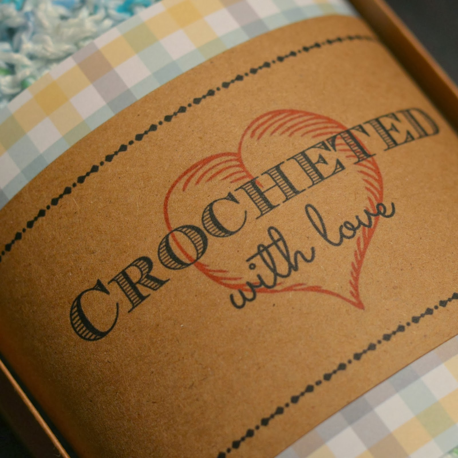 Free Printable: Crocheted with Love