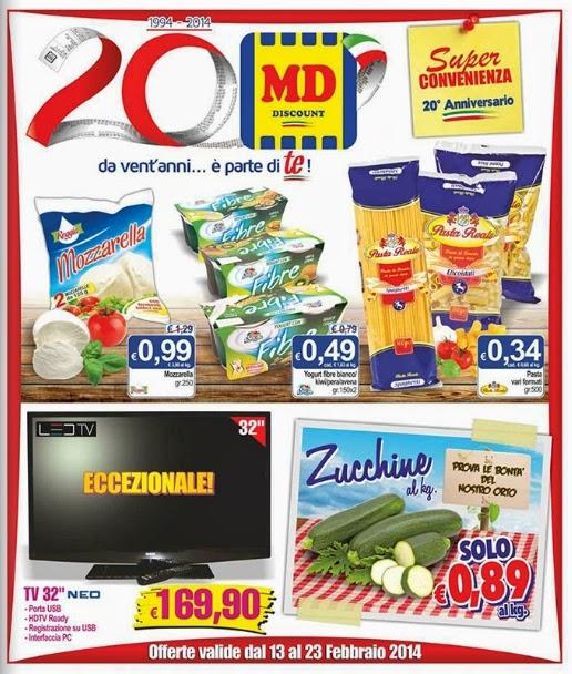 volantino - MD Discount Offerte dal 13 al 23 Febbraio 2014 ...