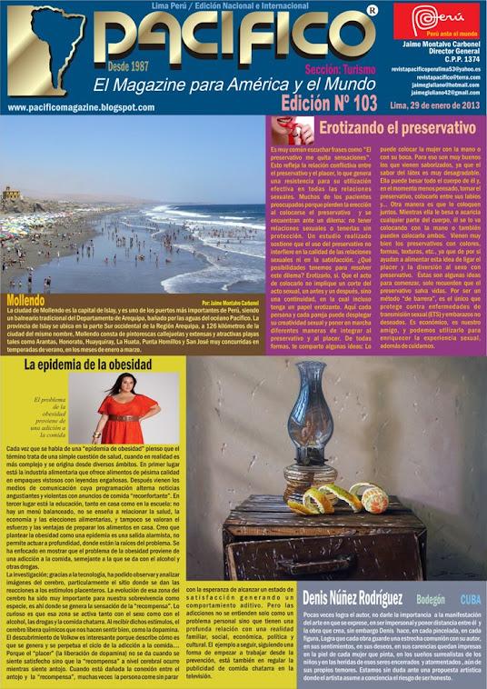 Revista Pacífico Nº 103 Turismo