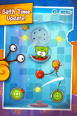 Cut the Rope Experiments para Android e iPhone