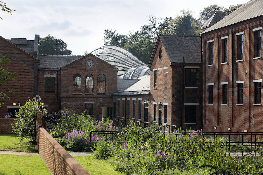 Laverstoke Mill by Thomas Heatherwick + 'Provocations: The Architecture and Design of Heatherwick Studio'