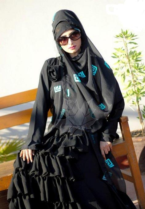 2013 Latest Abayas Designs