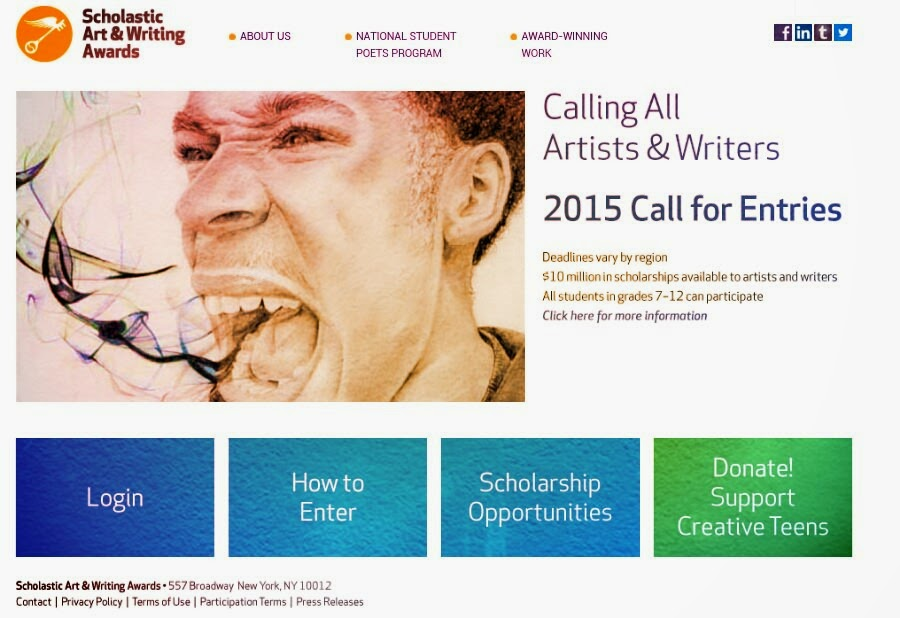 Art and Writing Awards Scholarship Visualartzi