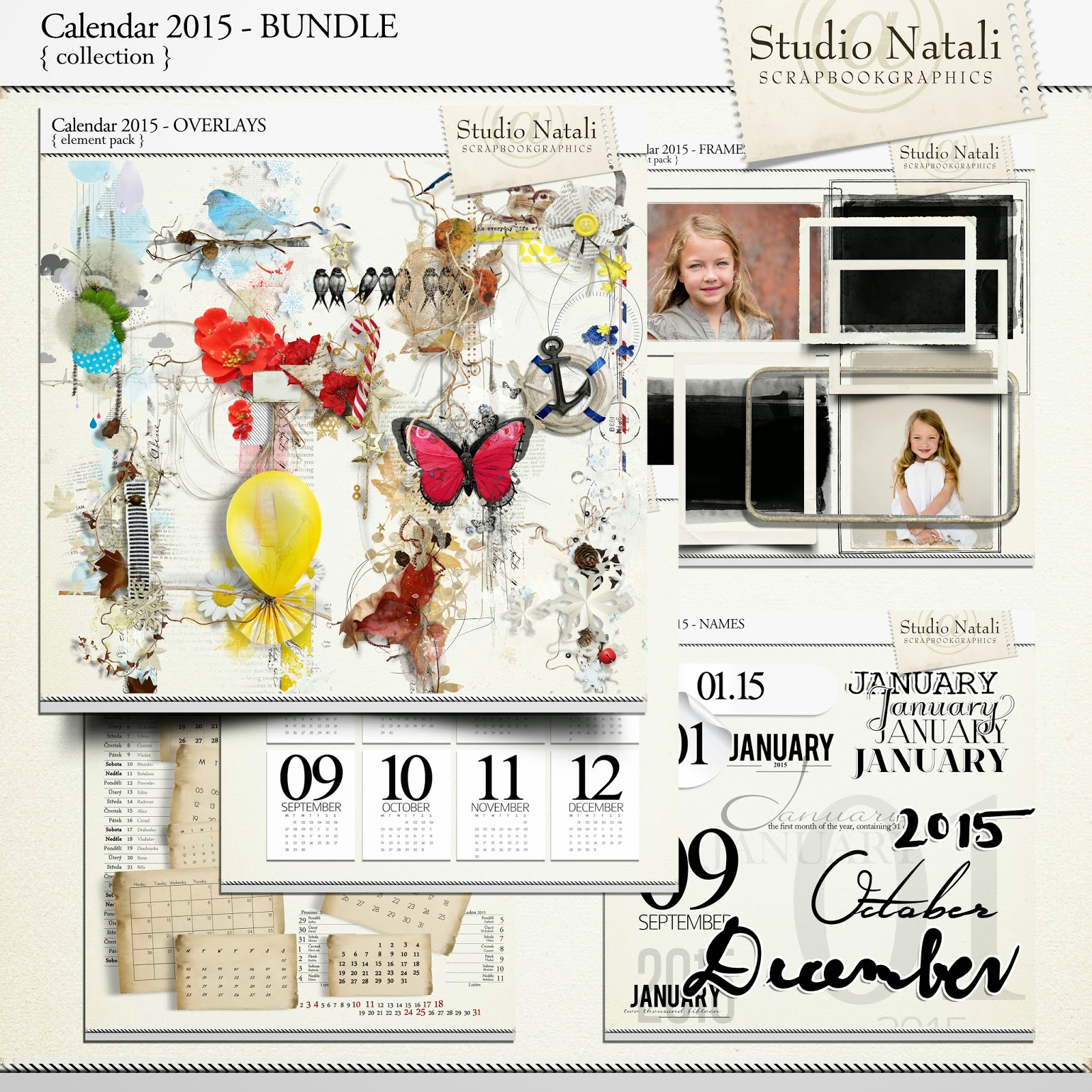 http://shop.scrapbookgraphics.com/Calendar-2015-Collection.html