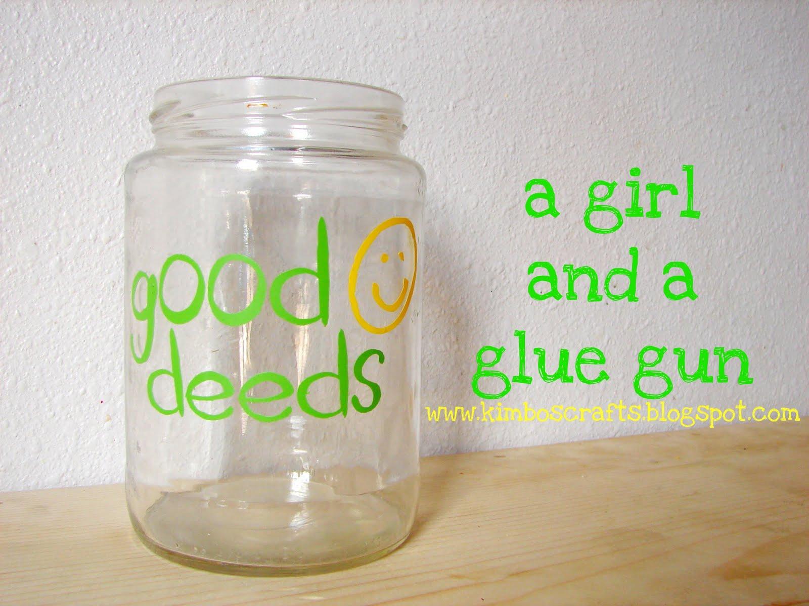 mason jar.....vinyl edition... - A girl and a glue gun