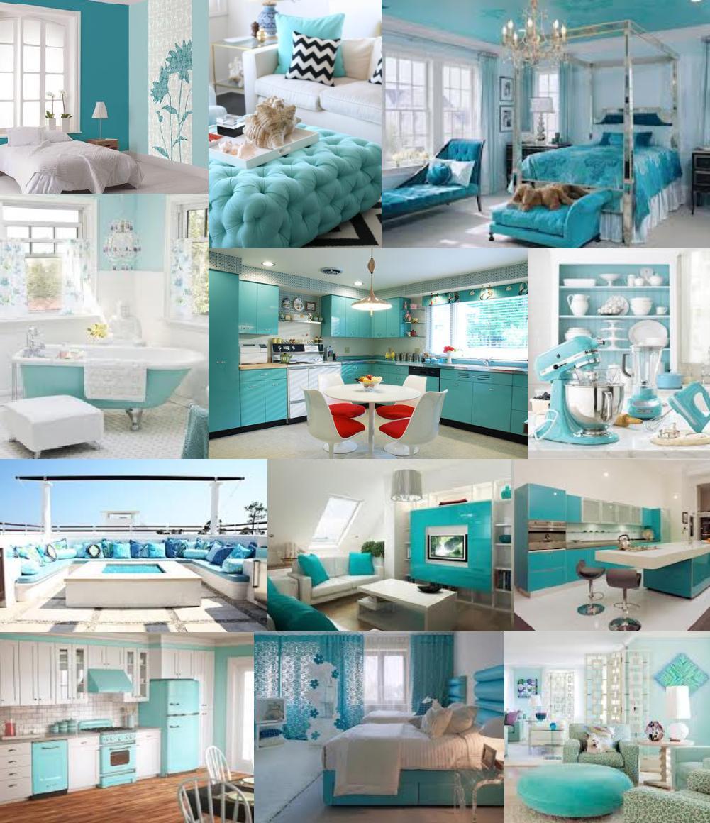 4decor by carsta interior turquoise 2 for Pintura interior turquesa