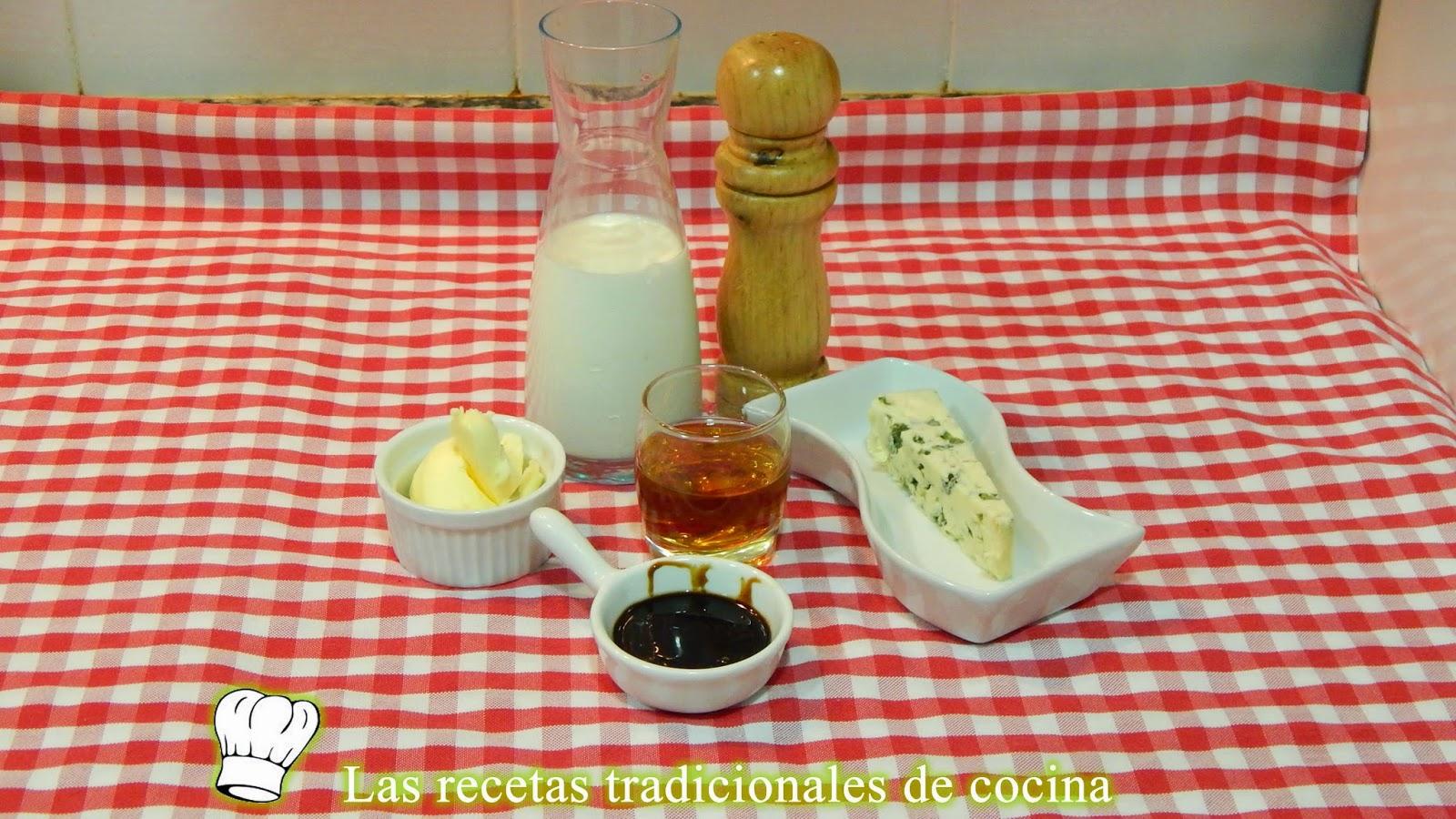 Receta de salsa roquefort
