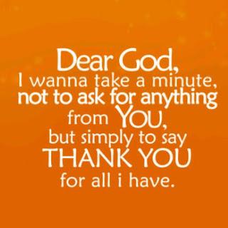 Kata-kata penuh syukur