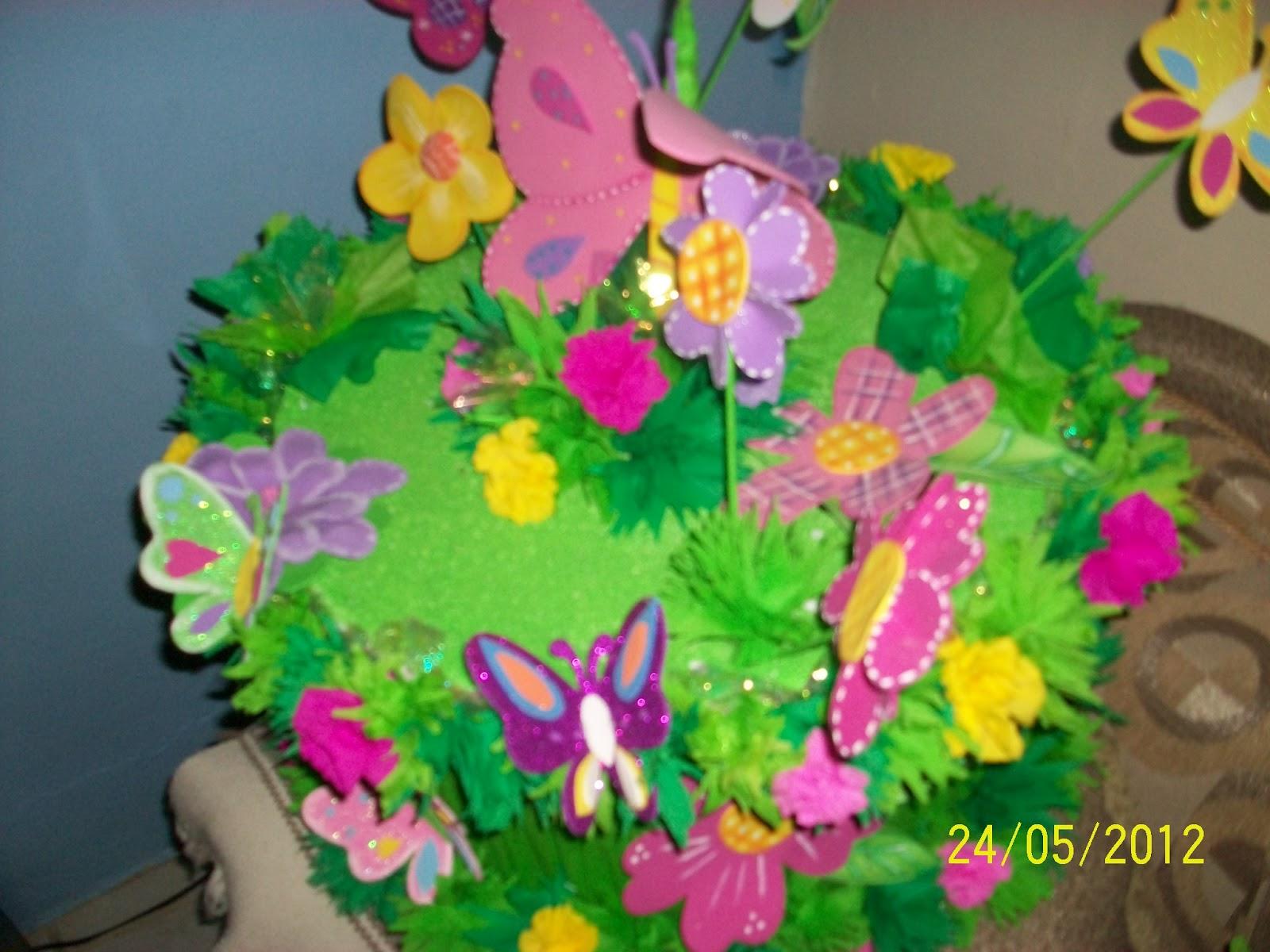 decoraciones infantiles flores y mariposas: fiestas infantiles