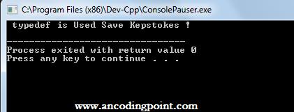 Typedef in C++