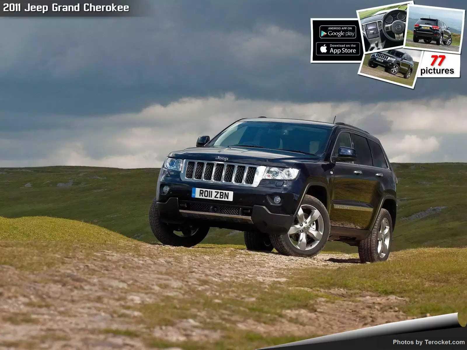Hình ảnh xe ô tô Jeep Grand Cherokee UK Version 2011 & nội ngoại thất