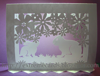 easter pop up card