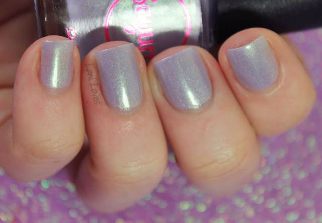 Sayuri Nail Lacquer - Licorice Laces nail polish swatches & review