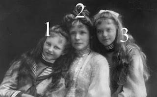 Duchesse von Urach et ses filles Elisabeth et Marie Gabriele