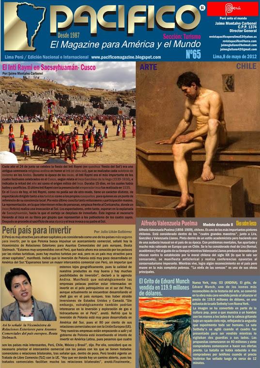 Revista Pacífico Nº 65 Turismo