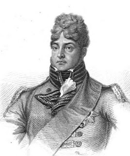 George, Prince of Wales  from Huish's Memoirs of her late  royal highness Charlotte Augusta (1818)