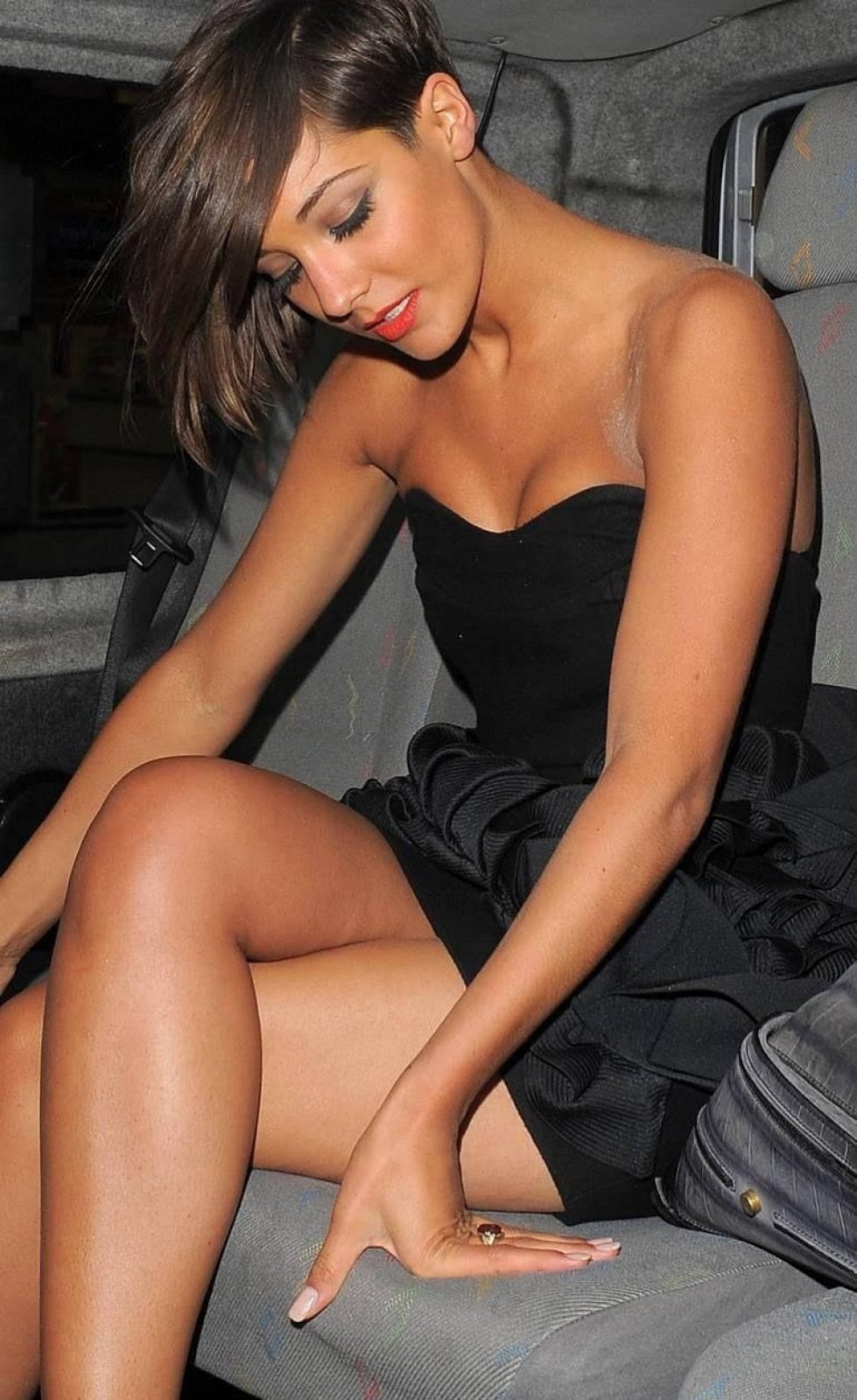Legs frankie sandford crossed