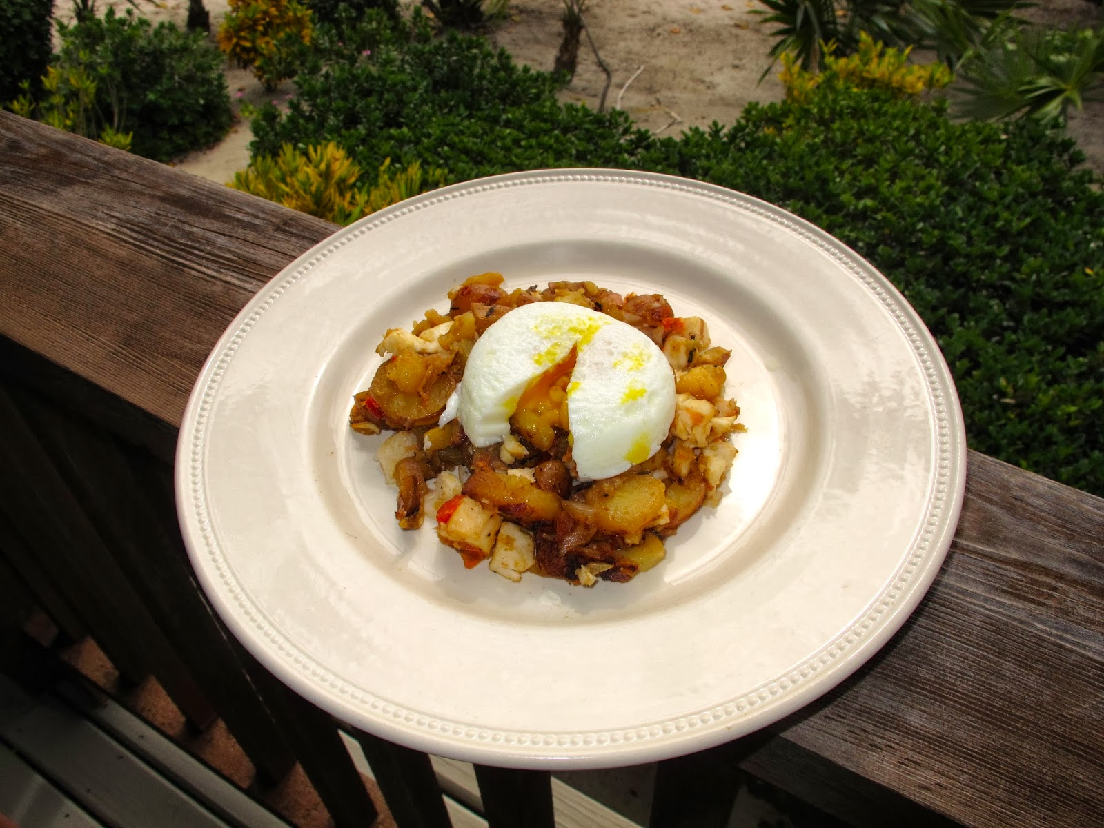 Lobster Potato Hash