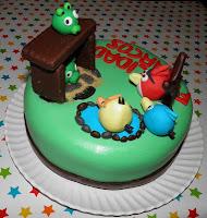 Tarta Cumpleaños Angry Birds