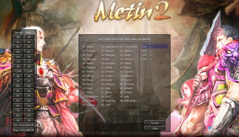 Metin2 18 Servere Giriş Ve Metin2 Wallhack Hilesi indir – Yeni
